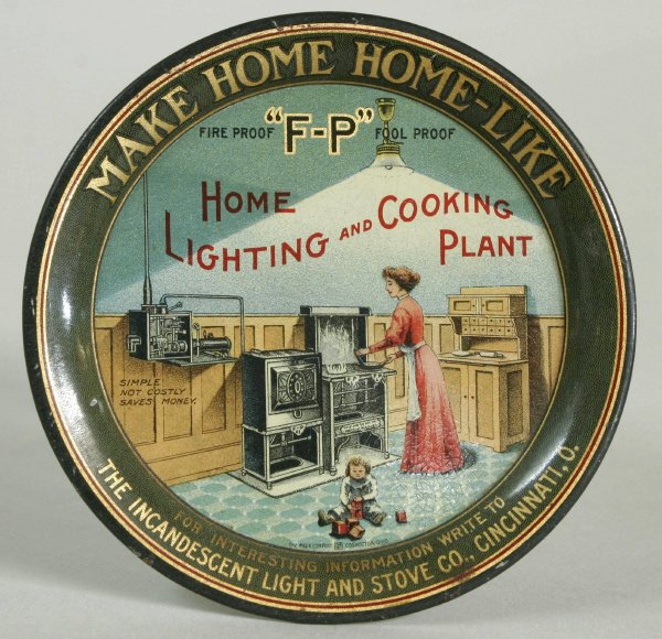 2008: F-P Lighting & Cooking Plant Tip Tray