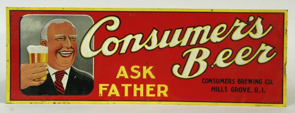 2018: Consumers Beer Sign