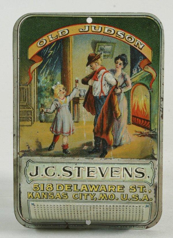 2020: Old Judson Advertising Match Box