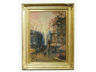 5: Impressionist Oil On Canvas Artist Signed