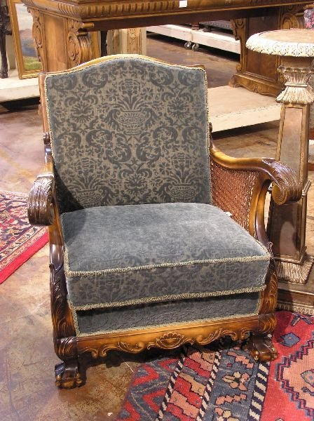 10: Pair of Chairs with Cane Sides