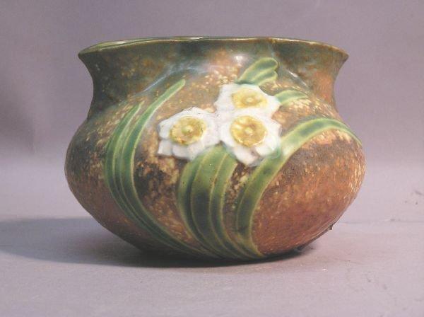 13: Roseville Pottery Vase