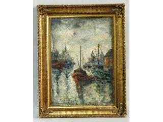 15: Artist Signed Impressionist Oil on Canvas