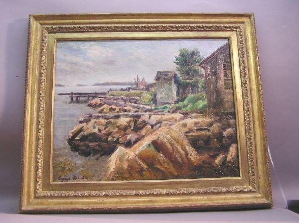21: Oil on Canvas Artist Signed Eugene Speicher