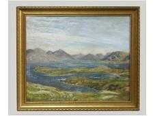Oil on Board Artist Signed Herbert F. Royle