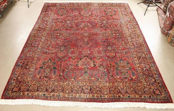 1003: Persian Sarouk Rug