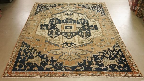 1015: Persian Serapi Rug