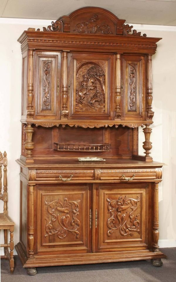 1024: Henry II Carved Court Cupboard