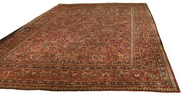 1047: Persian Drokhsh Rug