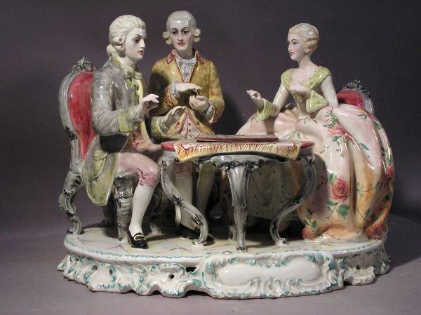 1003: Italian Porcelain Figural Group