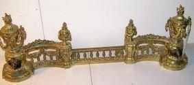 1019: Three Part Bronze Chenet