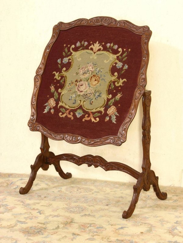 9: Tilt Top Needlepoint Table   692-42