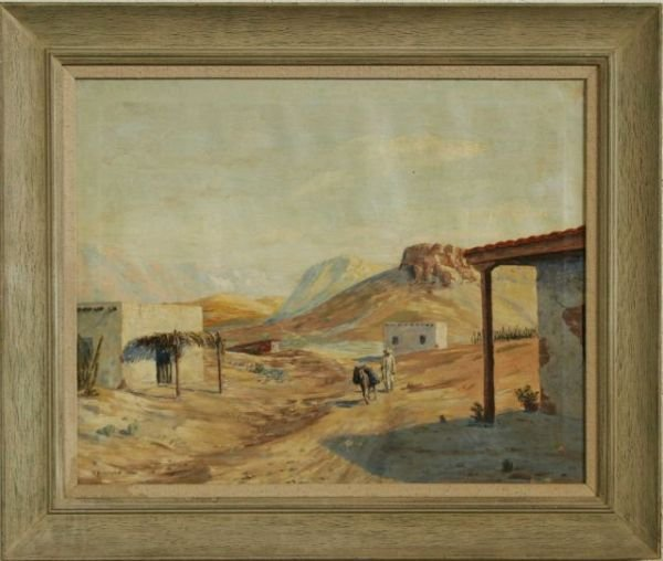 5: NICE SOUTHWESTERN OIL/CANVAS