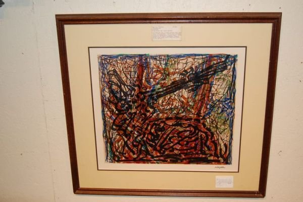 14: Conversation by Riopelle