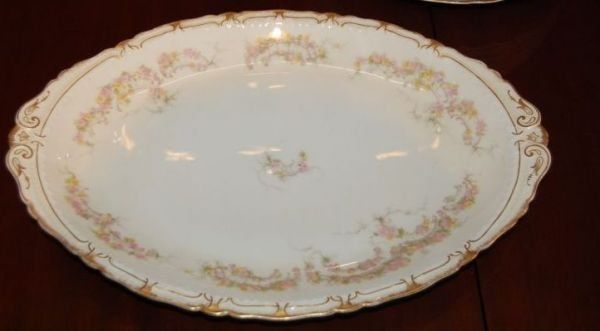 1013: 64 pc SET OF FRENCH HAVILAND LIMOGES CHINA - 2