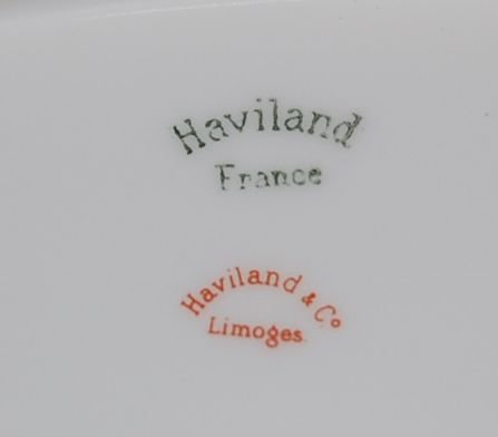 1013: 64 pc SET OF FRENCH HAVILAND LIMOGES CHINA - 3
