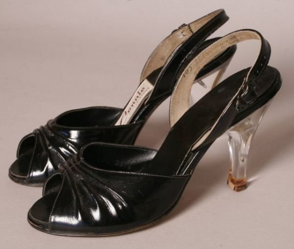 2153: VIVIEN LEIGH SHOES FROM PERSONAL WARDROBE