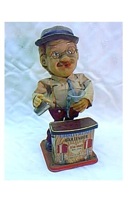 "3006: Battery Operated ""Charley Weaver Bartender"""