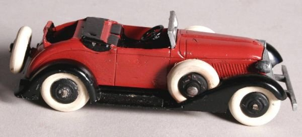 3017: Vintage Tootsie Toy Convertable Car