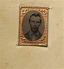 1081: BOOK OF SMALL CIVIL WAR ERA CABINET CARDS