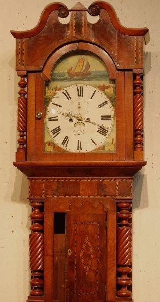 3022: D. JONES ,LLANDILO SCOTTISH GRANDFATHER CLOCK
