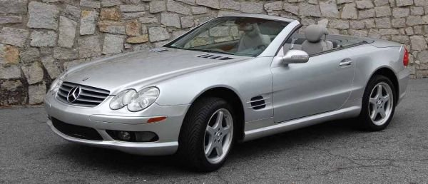 92: 2003 MERCEDES 500 SL-R With MOONROOF !