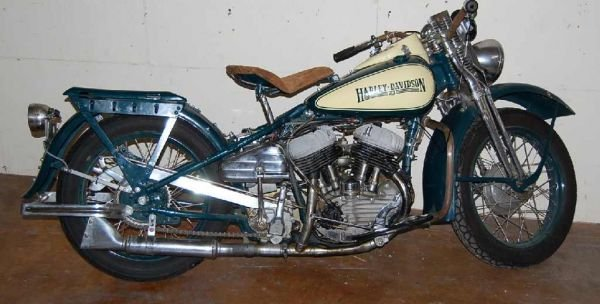 16: RESTORED 1942 HARLEY DAVIDSON MOTORCYCLE REAL DEAL
