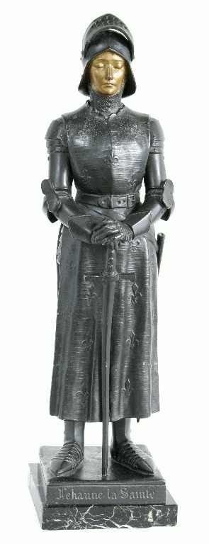 1111: LEHANNE LA SAINT - JOAN OF ARC STATUETTE