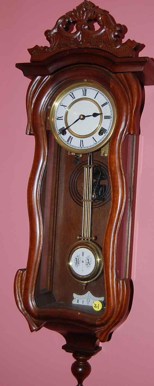 21: R.A. REGULATOR WALL CLOCK