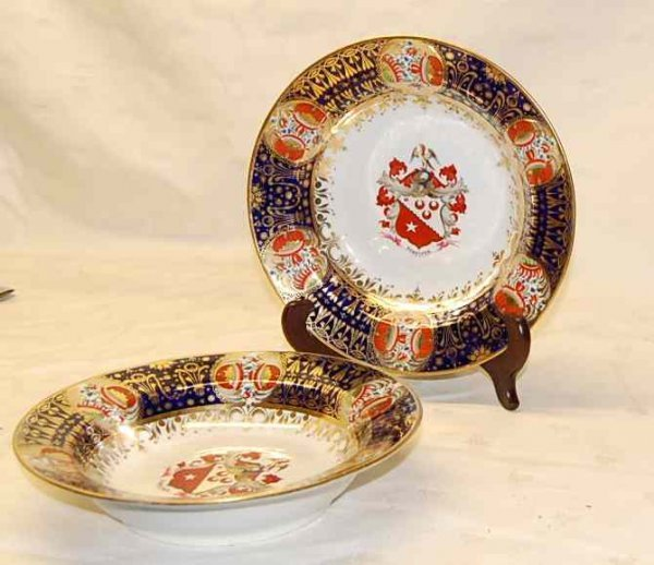 2001: PAIR OF CHAMBERLAINS WORCESTER PLATES