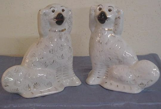 4: Pair of Staffordshire Dogs