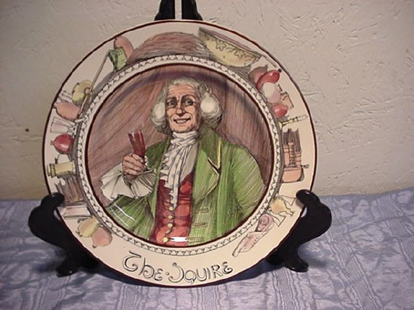 7: Royal Doulton Character Plate