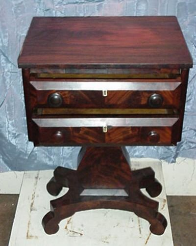 13: American Empire Side Table   204-247