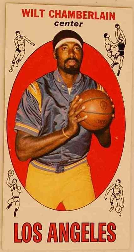18: WILT CHAMBERLAIN 1969-1970 BASKETBALL CARD