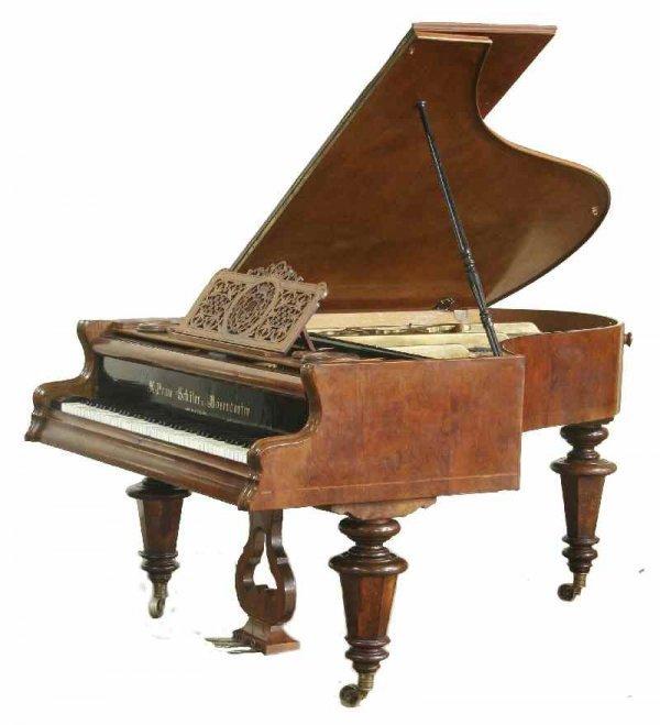 2056: BOSENDORFER BABY GRAND PIANO