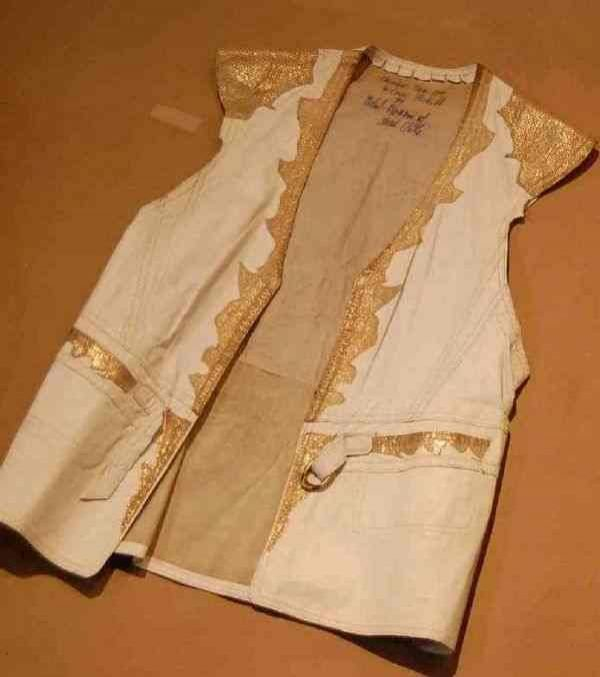 221: CUSTOM LEATHER STAGE COSTUME- SINGER WILSON PICKET