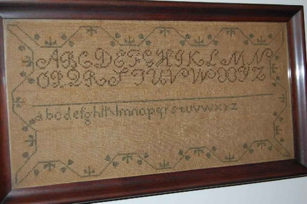 508: EARLY SAMPLER DATED 1836