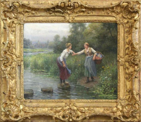 15: PAUL BLANDEAU FRENCH PAINTING