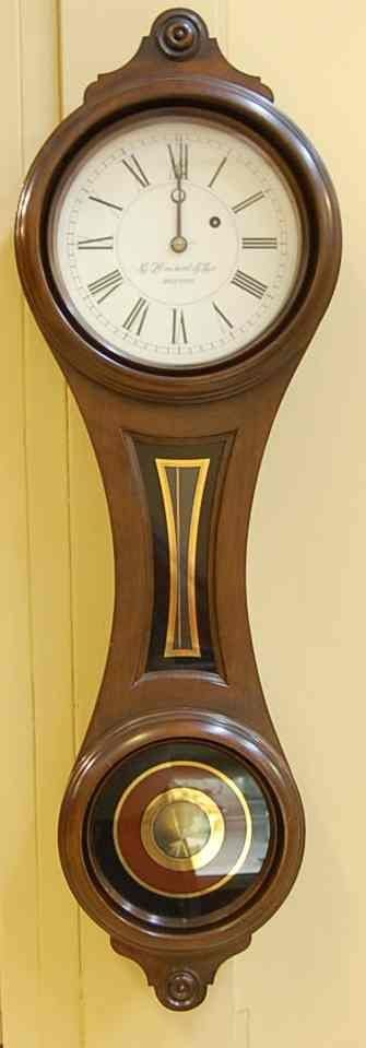 507: E. HOWARD & CO. BOSTON WALL CLOCK