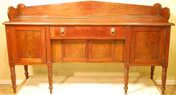524: WILLIAM IV MAHOGANY SIDEBOARD