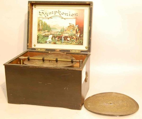 563: GERMAN SYMPHONION DISC MUSIC BOX
