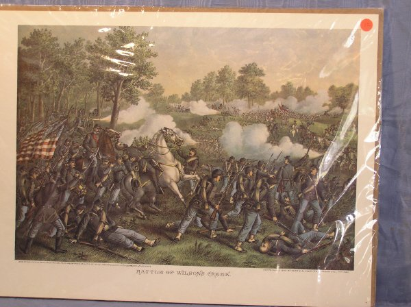 "10: Kurtz & Allison print ""Battle of Fort Donelson"""
