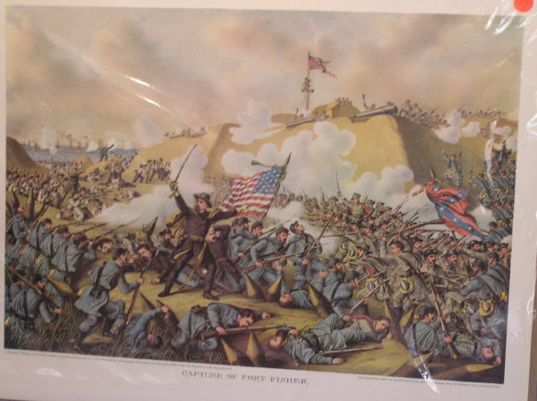 "14: Kurtz & Allison Print, ""Capture of Fort Fisher"""