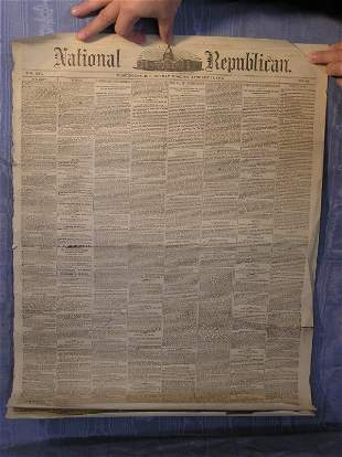 16: National Republican Newspaper from 1884