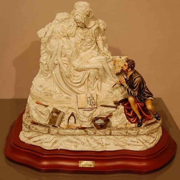 7: CORTESE ITALIAN CAPODIMONTE PORCELAIN FIGURE