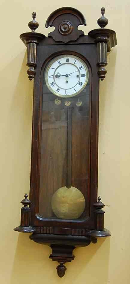 5: THREE WEIGHT VIENNA WALL CLOCK