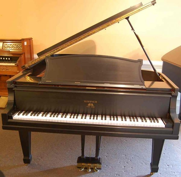 2: WISSNER EBONY 7' GRAND PIANO