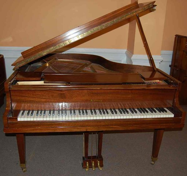 4: SCHILLING 5' BABY GRAND PIANO