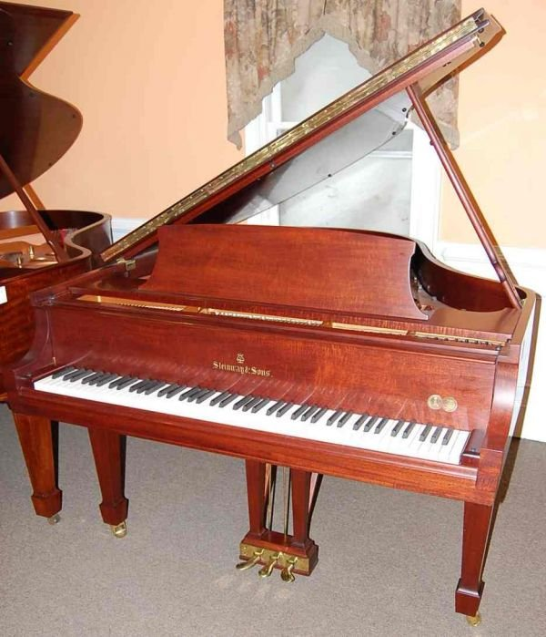 11: STEINWAY & SONS MODEL  M  GRAND PIANO