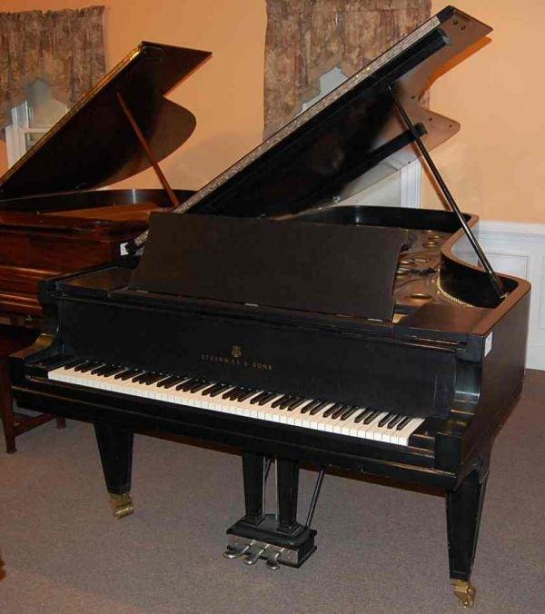 13: STEINWAY  CLONE 9' GRAND PIANO